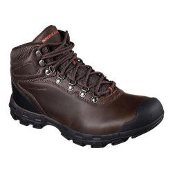 Men's Skechers Relaxed Fit Garver Primero Boot Chocolate