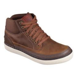 Men's Skechers Relaxed Fit Palen Bower High Top Brown