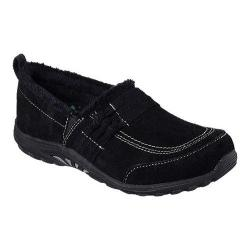 Women's Skechers Relaxed Fit Reggae Fest Loungy Slip On Shoe Black
