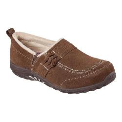 Women's Skechers Relaxed Fit Reggae Fest Loungy Slip On Shoe Brown