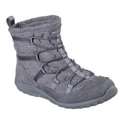 Women's Skechers Relaxed Fit Reggae Fest Steady Ankle Boot Charcoal