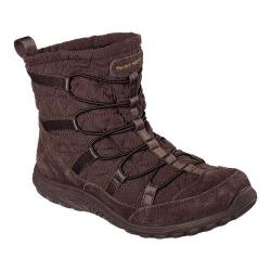 Women's Skechers Relaxed Fit Reggae Fest Steady Ankle Boot Chocolate