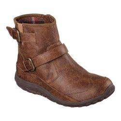 Women's Skechers Relaxed Fit Reggae Fest Urban Dread Ankle Boot Brown