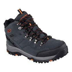 Men's Skechers Relaxed Fit Relment Pelmo Hiking Boot Gray