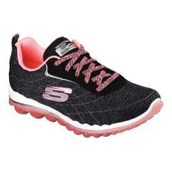 Women's Skechers Skech-Air 2.0 Modern Edge Cross Training Shoe Black/Pink