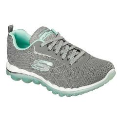 Women's Skechers Skech-Air 2.0 Modern Edge Cross Training Shoe Gray/Multi