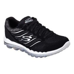 Women's Skechers Skech-Air 2.0 Training Shoe Black/White