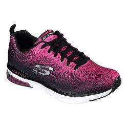 Women's Skechers Skech-Air Infinity Modern Training Shoe Black/Hot Pink