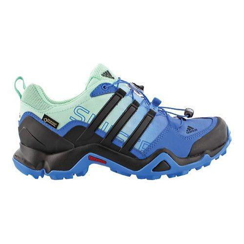 a7423b5df Shop Women s adidas Terrex Swift R GORE-TEX Ray Blue Black Ice Green - Free  Shipping Today - Overstock - 12698999