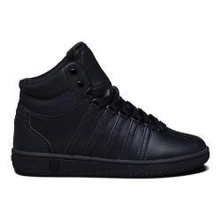 Children's K-Swiss Classic VN Mid Sneaker Black/Black