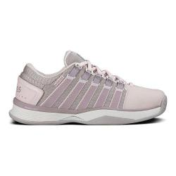 Women's K-Swiss Hypercourt Tennis Shoe Mauve Chalk/Gray Cloud