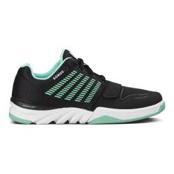 Women's K-Swiss X Court Black/Cabbage/White