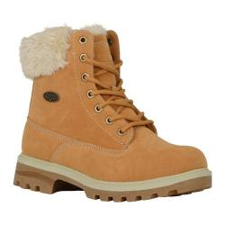 Women's Lugz Empire HI Fur Work Boot Golden Wheat/Cream/Gum Thermabuck
