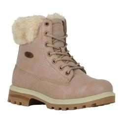 Women's Lugz Empire HI Fur Work Boot Nude/Cream/Gum Perma Hide