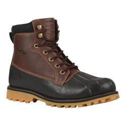 Men's Lugz Mallard Duck Toe Boot Dark Brown/Cabin/Gum Perma Hide