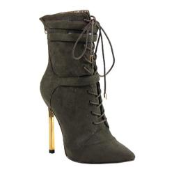 Women's Luichiny Fine By Me Bootie Army Imi Suede