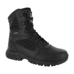 Men's Magnum Response III 8.0 Side Zip Waterproof 400G Boot Black Leather