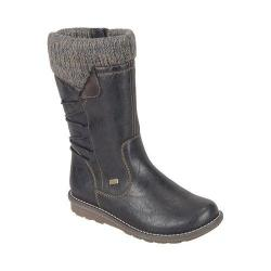 Women's Remonte Shanice R1094 Mid-Calf Sweater Boot Asphalt/Antik/Graphit