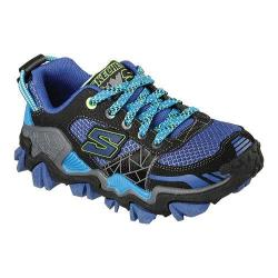 Boys' Skechers Trail Crusher Hiking Shoe Black/Royal