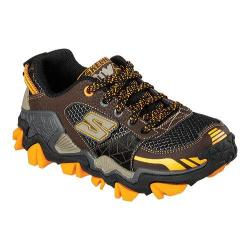 Boys' Skechers Trail Crusher Hiking Shoe Chocolate/Orange