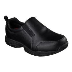 Men's Skechers Work Relaxed Fit Felton Camak SR Slip On Shoe Black