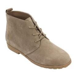 Women's White Mountain Albany Chukka Boot Light Taupe Suede