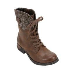 Women's White Mountain Raymond Lace Up Boot Cognac Fabric