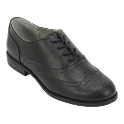 Women's White Mountain Stern Oxford Black Smooth
