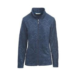 Women's Woolrich Andes Fleece Printed Jacket Deep Indigo