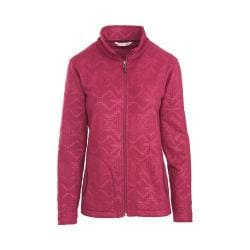Women's Woolrich Andes Fleece Printed Jacket Wildberry
