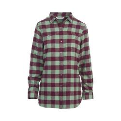 Women's Woolrich Buffalo Check Boyfriend Shirt Fig Check