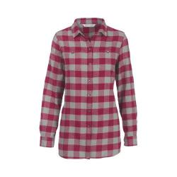 Women's Woolrich Buffalo Check Boyfriend Shirt Wildberry Check