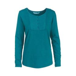 Women's Woolrich First Forks Henley Dark Teal