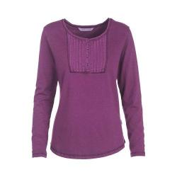 Women's Woolrich First Forks Henley Wisteria