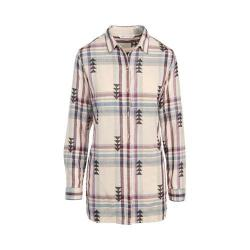 Women's Woolrich First Light Jacquard Shirt Silver Gray