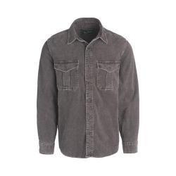 Men's Woolrich Hemlock Corduroy Shirt Dark Walnut