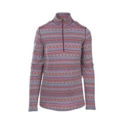 Women's Woolrich Mile Run Half Zip Knit Wisteria