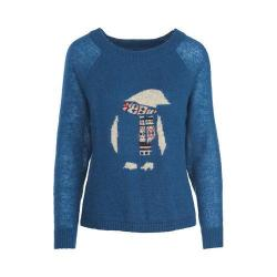 Women's Woolrich Motif Mohair Sweater Atlantic
