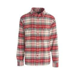 Men's Woolrich Oxbow Bend Flannel Shirt Wool Cream