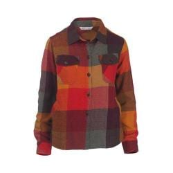 Women's Woolrich Oxbow Bend Shirt Jacket Old Red Multi