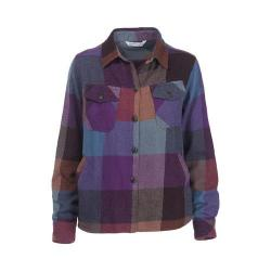 Women's Woolrich Oxbow Bend Shirt Jacket Wisteria Multi