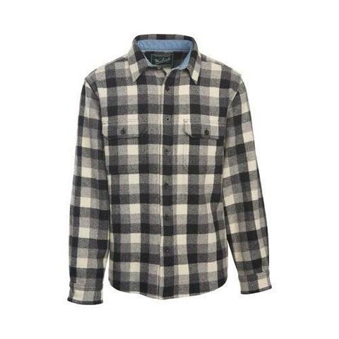 Men's Woolrich Wool Buffalo Shirt Gray