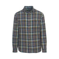 Men's Woolrich Red Creek Long Sleeve Shirt Deep Indigo