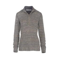 Women's Woolrich Tanglewood 3/4 Zip Sweater Matte Gray Heather