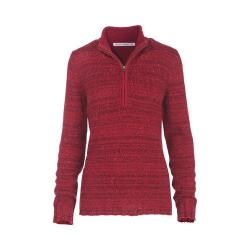 Women's Woolrich Tanglewood 3/4 Zip Sweater Wildberry Heather