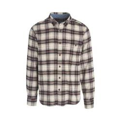 Men's Woolrich Trout Run Shirt Black Plaid