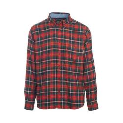 Men's Woolrich Trout Run Shirt Old Red Multi