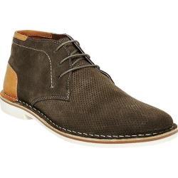 Men's Steve Madden Hendric Chukka Boot Green Suede/Leather