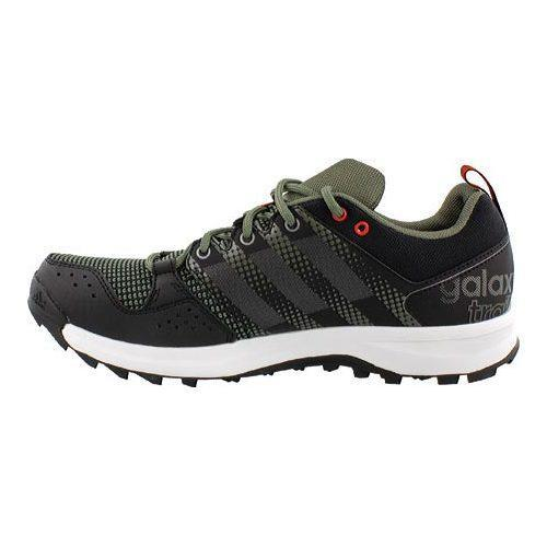 watch 36a97 7bc91 ... Thumbnail Menx27s adidas Galaxy Trail Running Shoe Base GreenIron  Metallic