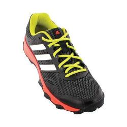 Men's adidas Duramo 7 Trail Shoe Black/White/Solar Red